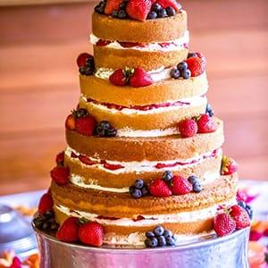 Stroudsmoor Country Inn - Stroudsburg - Wedding Resort - Bridal Sampling - Strawberry Cake