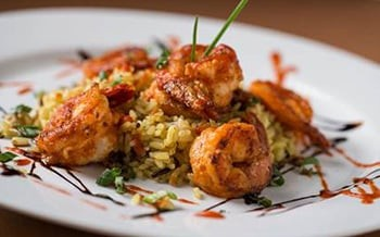 Stroudsmoor Country Inn - Stroudsburg - Wedding Resort - Stroudsmoor Restaurant Midweek Lounge Shrimp Plate