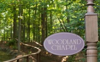 Stroudsmoor Country Inn - Stroudsburg - Wedding Resort - Entrance To Woodland Chapel