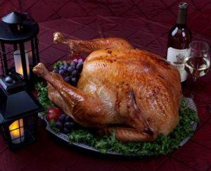 Stroudsmoor Country Inn - Poconos Wedding Resort - Table Setting - Roast Turkey - Wine