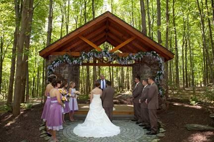 Stone wall barn loft wedding