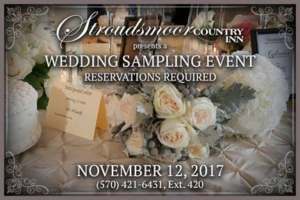 Wedding sampling event ad
