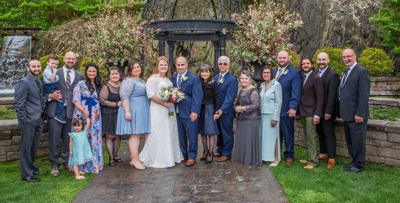 stroudsmoor family group photo