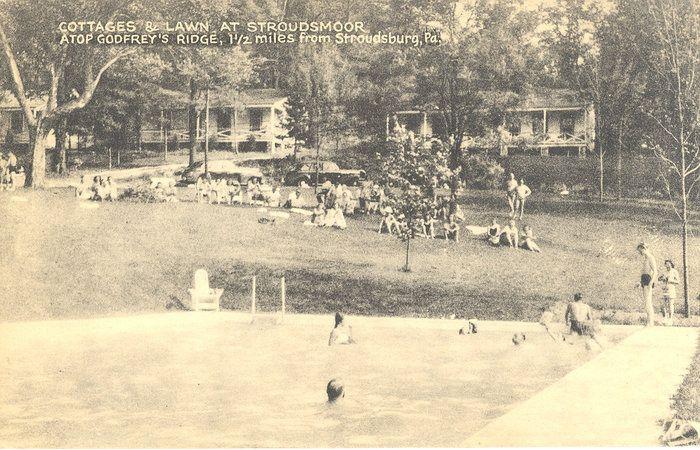 vintage stroudsmoor outdoor pool