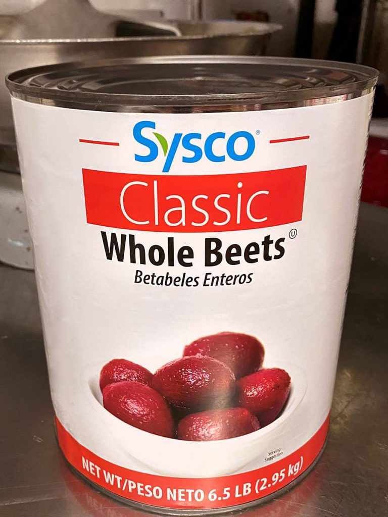 Can of whole beets