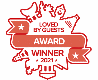 Loved By Guests Award from Hotels.com