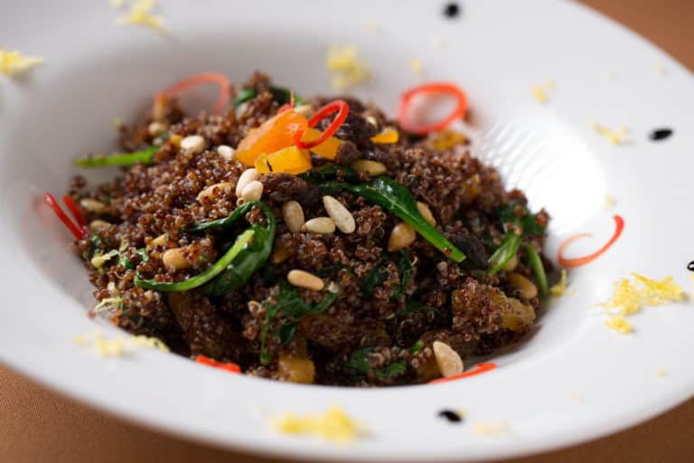 Wild Mushrooms and Lentil Salad