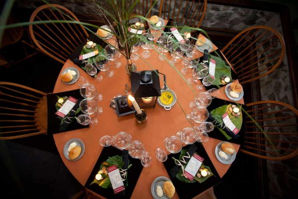 Beautiful event place settings