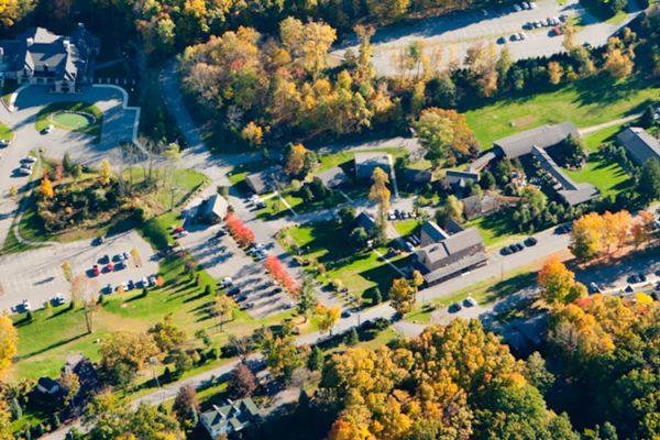 Stroudsmoor Country Inn - Stroudsburg - Wedding Resort - Stroudsmoor Country Inn - Aerial View
