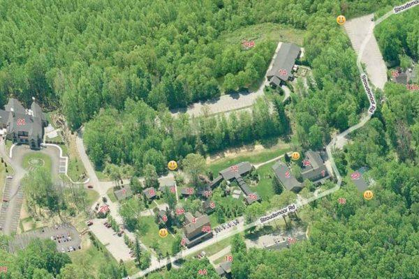 Stroudsmoor Property Map